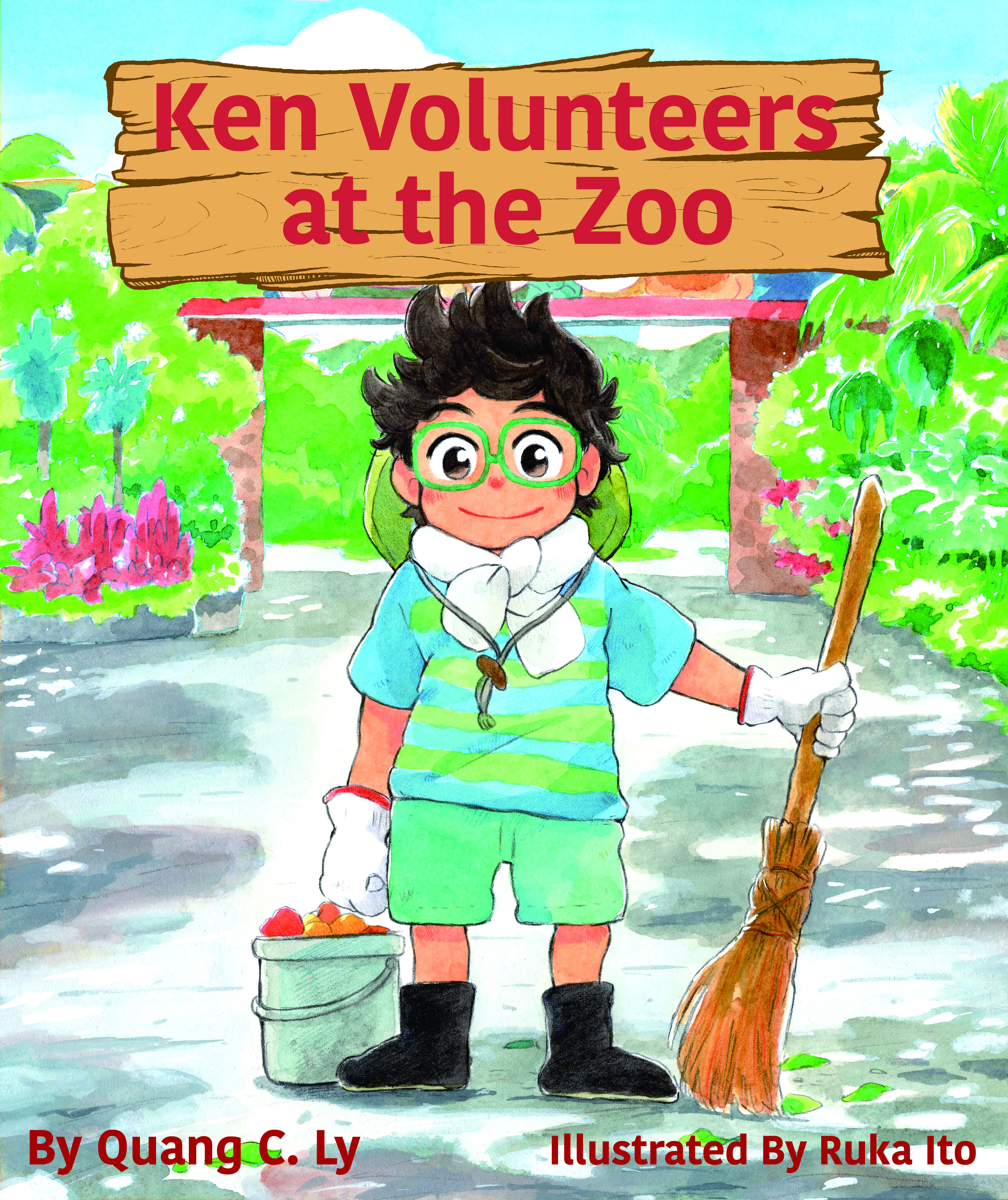 Ken Volunteers at the Zoo